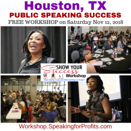 Public Speaking Success [Houston TX]