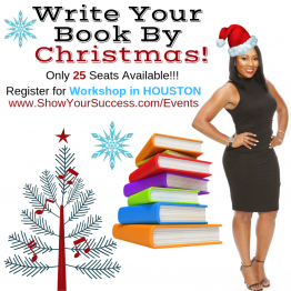 WRITE YOUR BOOK BY CHRISTMAS (Hanover Post Oak)