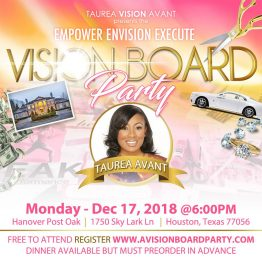 FREE Vision Board Party - Empower Envision Execute